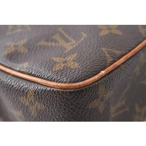 Louis Vuitton Monogram Compiegne 23 Clutch Hand Bag M51847