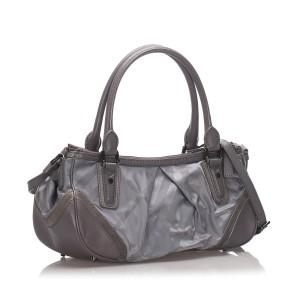 Plaid Nylon Crossbody Bag