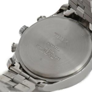 TIMEX Chronograph black Dial Stainless Steel Quartz Men's Watch