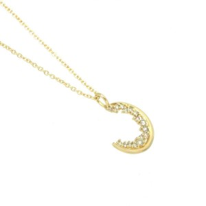 18k Yellow gold Diamond Necklace