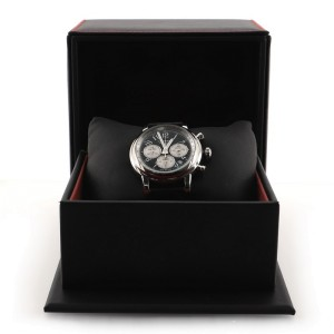 Chopard Mille Miglia Racing Colours Chronograph Automatic Watch Stainless Steel and Perforated Leather 42