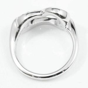Piaget 18K White Gold Diamond Heart Limelight Ring