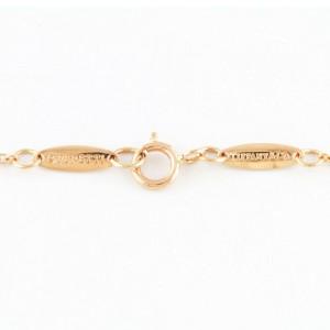 TIFFANY&Co. 18K Pink Gold Diamond Necklace CHAT-360