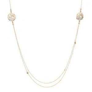 Damiani Diamantissima Long Necklace 18K Rose Gold and Diamonds