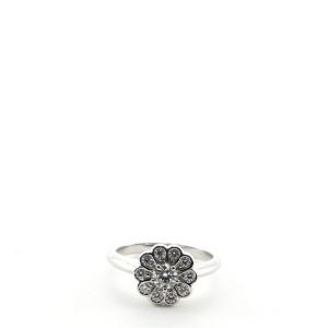 Tiffany & Co. Flower Enchant Ring Platinum and Diamonds