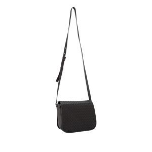 Intrecciato Leather Crossbody Bag