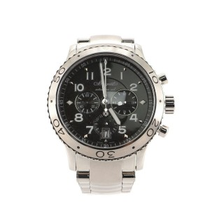 Breguet Type XXI Flyback Chronograph Automatic Watch Stainless Steel 42