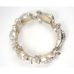 Sterling Silver Turtle Bracelet