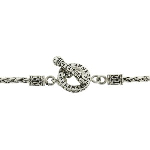 Effy Balissima Two Tone Cross and Pearl Necklace