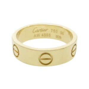 Cartier 18K Yellow Gold Love Ring Size 7.5