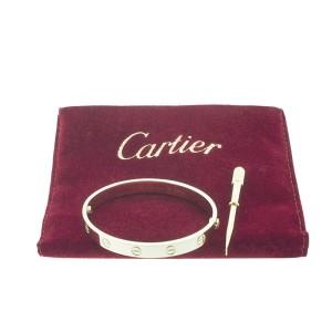 Cartier Love Yellow Bracelet Gold Size 17