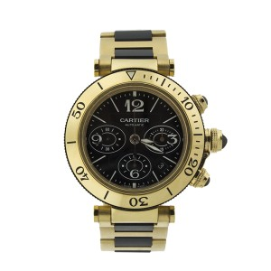 Cartier Pasha Seatimer Chronograph Men's Watch Model #W301970M