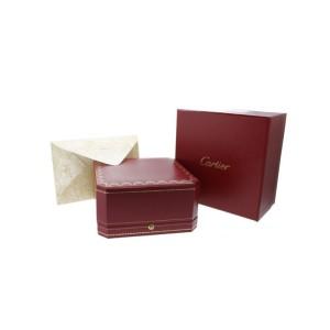 Cartier 18K White Gold 4 Diamonds Love Bracelet 16