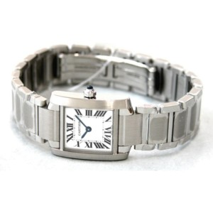 Cartier Tank Francaise W51008Q3 20mm Womens Watch