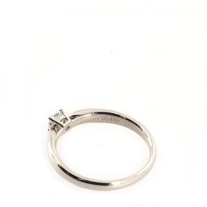 Tiffany & Co. Harmony Solitaire Ring Platinum with RBC Diamond 0.22CT