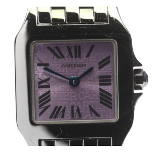 Cartier Santos W2510002 Stainless Steel Quartz 20mm Womens Watch