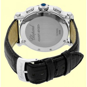 Chopard Happy Sport Stainless Steel Quartz Chronograph Mens Watch