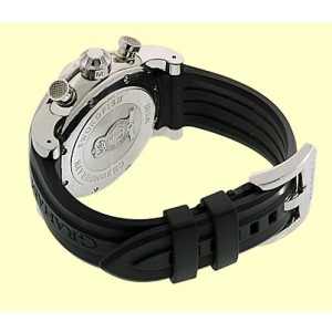 "Graham ""Swordfish Lefty"" Stainless Steel Chronograph Strap Watch"