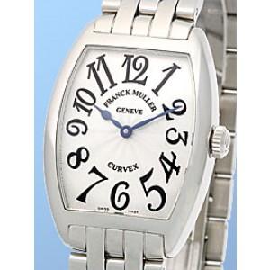 Franck Muller Cintreé Curvex Stainless Steel Watch