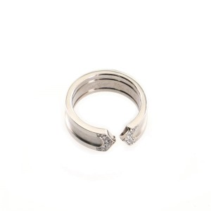Cartier C de Cartier Ring 18K White Gold with Diamonds 6.5mm 4 - 47