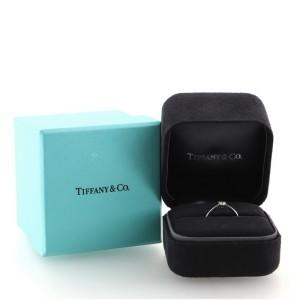 Tiffany & Co. Harmony Solitaire Ring Platinum with RBC Diamond I/VS1 .24CT