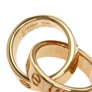 CARTIER 18K Pink Gold Baby LOVE Bracelets