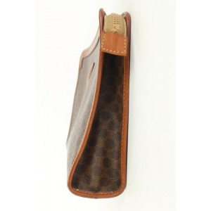 Céline Monogram Macadam Toiletry Pouch Make Up Bag Cosmetic Clutch 884cel413