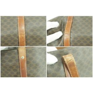 Céline Brown Monogram Macadam Tote Bag  16CK855