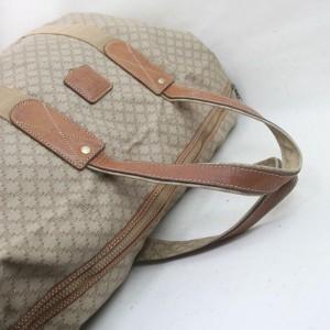 Céline CELINE Boston Bag Light Brown PVC 862392