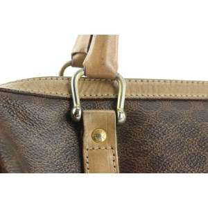 Céline Brown Monogram Macadam Boston Duffle Bag 20cel121