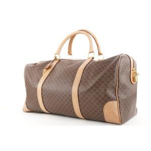 Celine Brown Monogram Macadam Boston Duffle Bag 340cel224