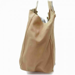Céline Beige Leather Horizontal Cabas Tote 857425