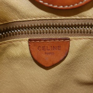 Céline 867105 Monogram Macadam Shopper Tote