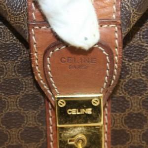 Céline Extra Large Monogram Macadam Boston Duffle 868473