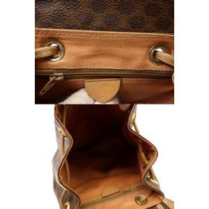 Céline Brown Monogram Macadam Backpack 858343