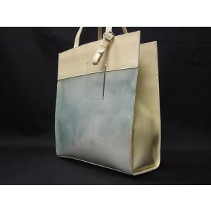 Céline Naked Clear Shopper Translucent 239717 Blue Vinyl Tote