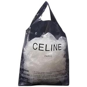 Céline Shopping Tote Translucent 238840 Clear Pvc Beach Bag