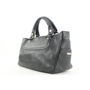 Céline Black Leather Boogie Tote Bag 21cel121