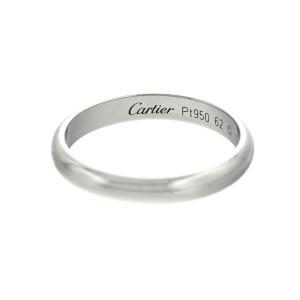 Platinum Wedding Bands For Men.Cartier Platinum Classic Wedding Band Mens Size 10