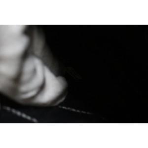 Chanel Black Embossed Lambskin Star O-Case Clutch Bag 761cas330