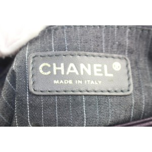 Chanel Purple Suede x Leather Jumbo Reissue Chain Flap 862939