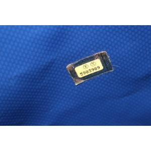 Chanel Blue Waterproof CC Sports Jumbo Backpack 118ccs23