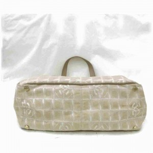 Chanel New Line Beige Tote Bag 867993