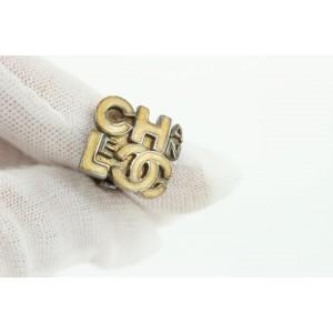 Chanel 00T Beige CC Earrings 8ccs17