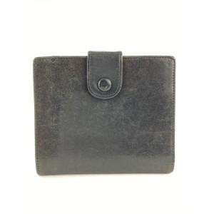 Chanel Black Lambskin CC Coin Purse Wallet 16l520