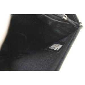 Chanel Black New Line Long Flap Wallet 71ccs126