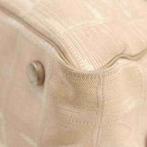 Chanel Beige New Line Boston Bag 862595