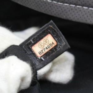 Chanel Cc Logo Sports 872865 Grey X Brown Nylon Tote