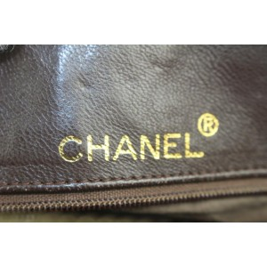 Chanel Quilted Brown Suede Fringe Tassel Camera Chain bag 813cas47