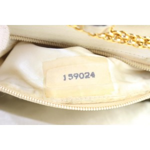 Chanel Gold Leather Kisslock Pouch Crossbody Chain Bag 855cas49